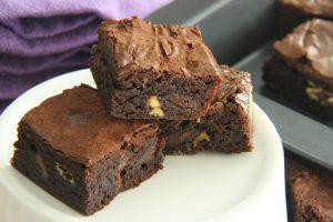 gluten free Choculence brownie