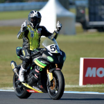 Callum Spriggs 2016 Supersport Series Champion
